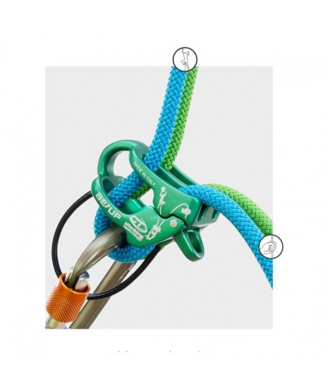 Climbing Technology - BeUp, belay device -