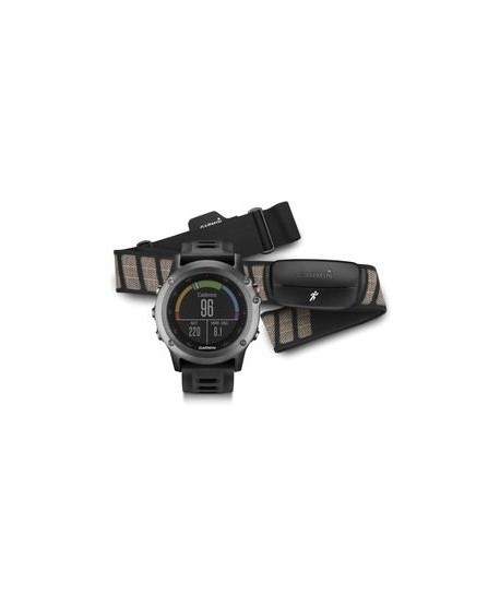 GARMIN - fenix 3 Grey Performer Bundle -