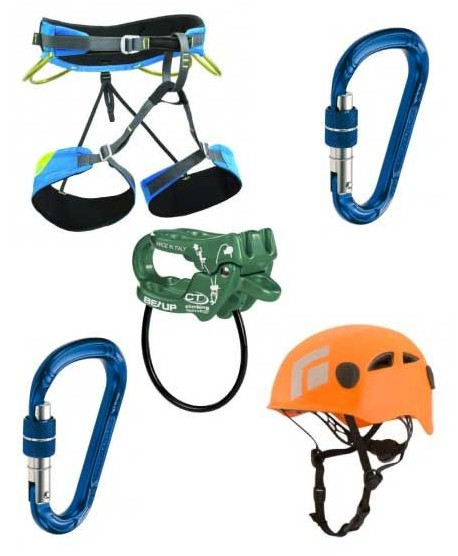 Kit Arrampicata Libera - ENTRY (AL1) -