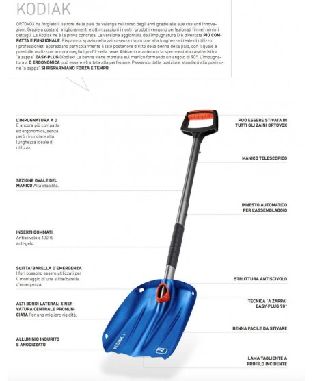 Ortovox - Shovel Kodiak -