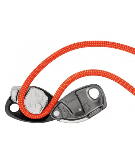 Petzl - GriGri+, belay device with assisted braking and anti-panic -