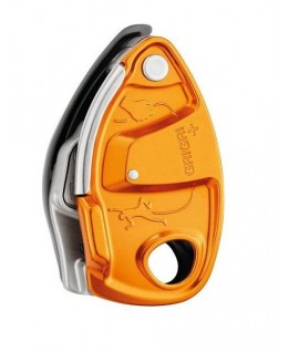 Petzl - GriGri+, belay device with assisted braking and anti-panic