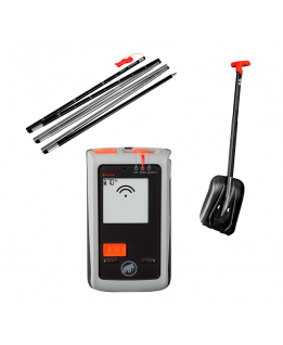 Mammut - Barryvox Package, kit avalanche safety ARTVA, shovel, probe