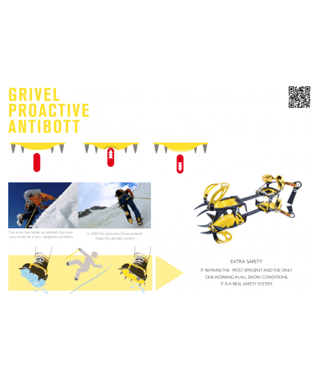 Grivel - G10, classic mountaineering crampon
