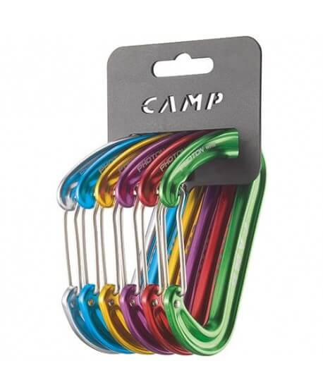 Camp - Photon Wire Rack Pack 6 pcs, carabiners
