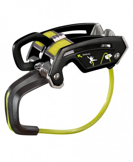 Edelrid Giga Jul, assisted braking and standard belay device