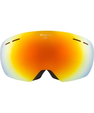Alpina - Granby HM, ski googles black matt red sph