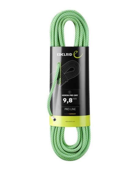 Edelrid - Heron Pro Dry 9.2 mm, corde sèche simple
