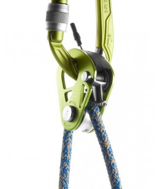 Edelrid - Spoc pulley with safety lock
