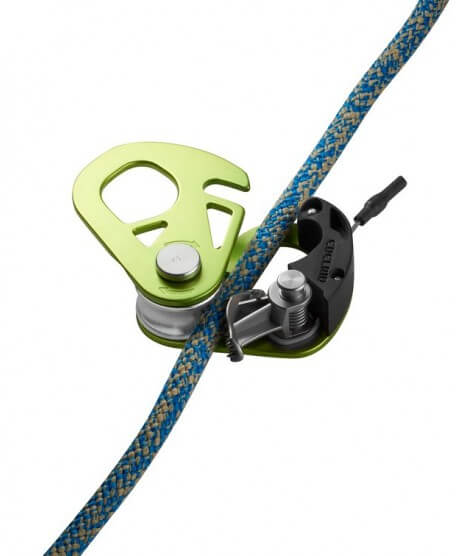 Edelrid - Spoc carrucola con blocco di sicurezza | MountainGear360 -