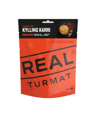 Real Turmat - Chicken Curry 2020, outdoor meal