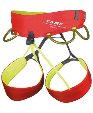 CAMP - Energy, red multipurpose harness