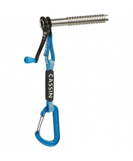 Camp - Rocket Plus, ice screw with integrated Dyneema sling