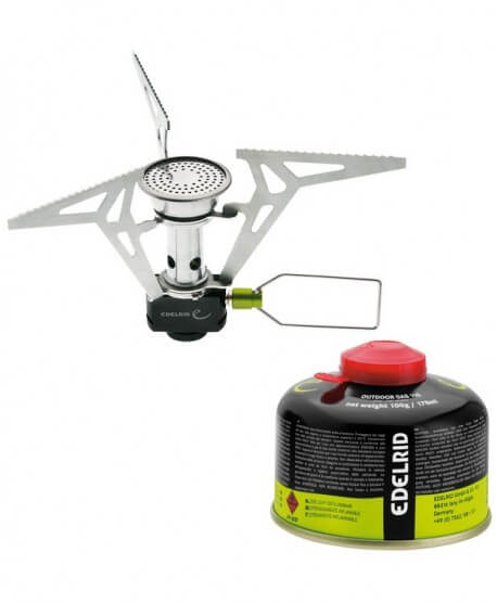 Edelrid - Kiro ST PZ, light and compact gas stove