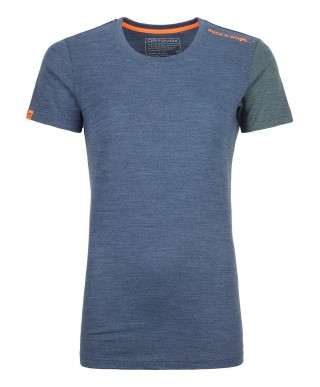 Ortovox - 185 Rock'N'Wool Short Sleeve W, chemise à manches courtes