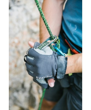 Edelrid - Work Gloves Open II, gloves for via ferratas, and beaying