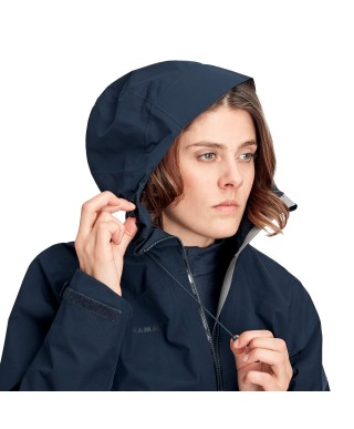 MAMMUT - Convey Tour HS Hooded Jacket donna 2020, Gore-Tex Marine