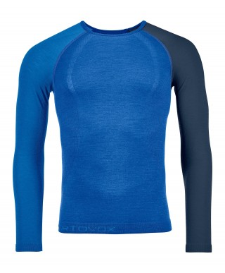 Ortovox - 120 Comp Light Long Sleeve M, pull en laine mérinos