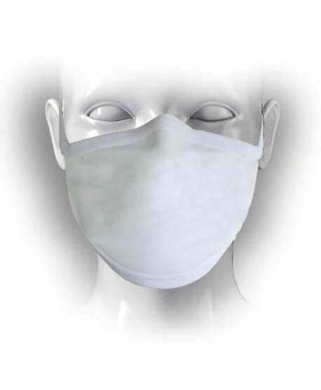 Washable protective face mask