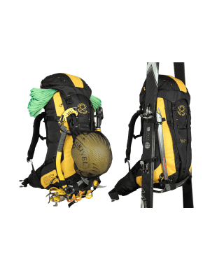 GRIVEL - Alpine Pro 40 + 10L, mountaineering backpack