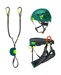 Climbing Technology - Kit VF Premium G-Compact, kit via ferrata