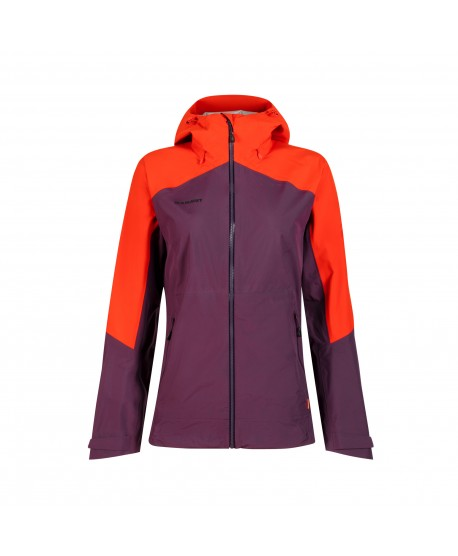 MAMMUT - Convey Tour HS Hooded Jacket woman, Gore-Tex Blackberry-Spicy